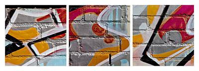 Industrial Graffiti Art Print by Art Block Collections