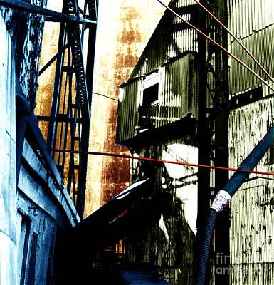 Industrial Landscape Art Print by Sandy MacNeil