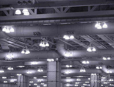 Photograph - Industrial Lights by Olivier Le Queinec
