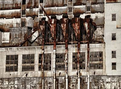 Photograph - Industrial Neglect by Robert Knight