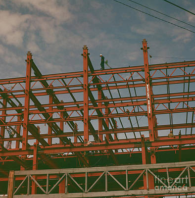 Photograph - Industrial Pattern 1 by Vintage Photography