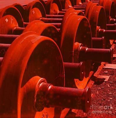 Photograph - Industrial Pattern 2 by Vintage Photography