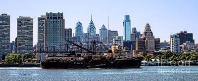Photograph - Industrial Philadelphia by Olivier Le Queinec