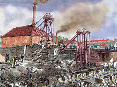 Exploitation Photograph - Industrial Revolution by Prisma Archivo