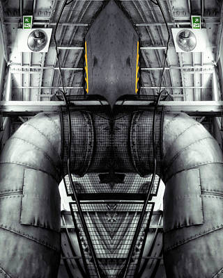 Photograph - Industrial Robot, 2014 by Ant Smith