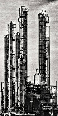 Industrial Scape In New Jersey Art Print