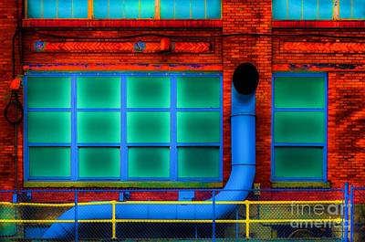 Photograph - Industrial Simplex by Michael Arend