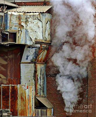 Photograph - Industrial Smoke by Marcia Lee Jones