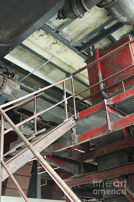 Photograph - Industrial Staircase by Patricia Hofmeester