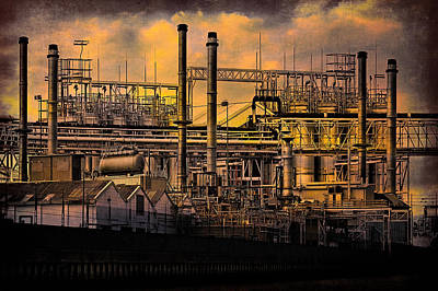 Photograph - Industrial Sunset by Chris Lord
