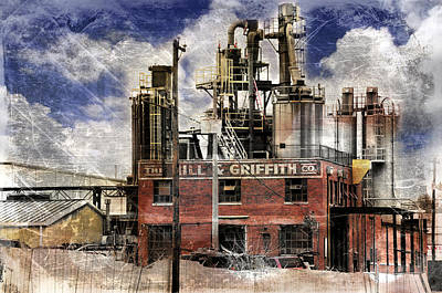 Photograph - Industrial Work by Davina Washington