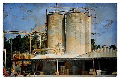 Photograph - Industrial Work Site by Davina Washington