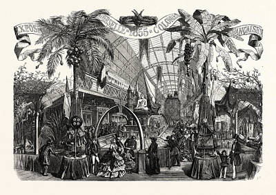 Industry Exhibition Universal. Products Of The French Art Print