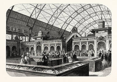 Industry Exhibition Universal. The Oriental Products Art Print