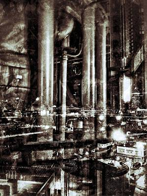 Citiscapes Photograph - Industry by H James Hoff