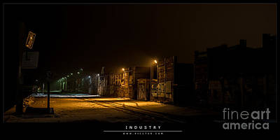 Photograph - Industry by Jorgen Norgaard