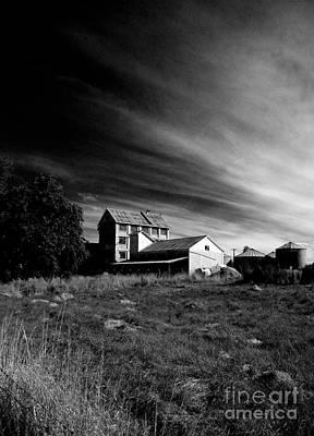 Photograph - Industry Meets Rural by Nareeta Martin