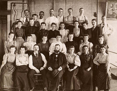Photograph - Industry Portrait, C1900 by Granger