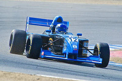 Indy Car Photograph - Indy At The S's by Dave Koontz