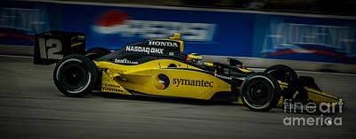 Indy Car Photograph - Indy Car 12 by Ronald Grogan