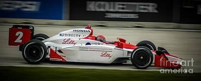 Indy Car Photograph - Indy Car 2 by Ronald Grogan
