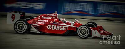 Indy Car Photograph - Indy Car 9 by Ronald Grogan