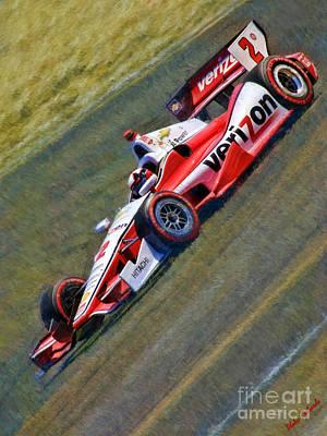 Indy Car Photograph - Indy Car's Juan Pablo Montoya by Blake Richards