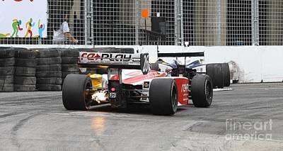 Toronto Indy Lights Photograph - Indy Light  by Simon Jones