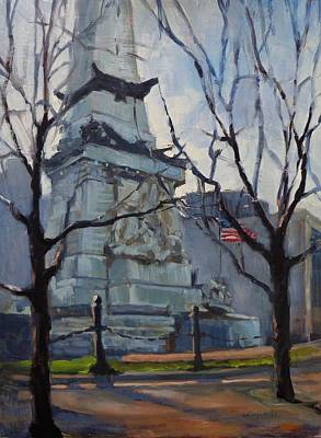 Painting - Indy Monumental by Donna Shortt