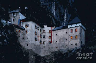 Infamous Jim-jam Predjama Castle Art Print
