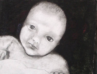 Drawing - Infant by Angela Stout