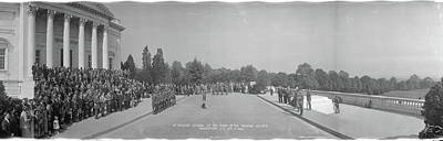 Arlington Photograph - Infantry Reunion Tomb Of The Unknowns by Fred Schutz Collection