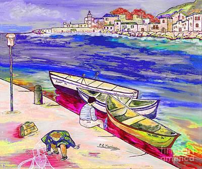 Infanzia Spensierata Art Print by Loredana Messina