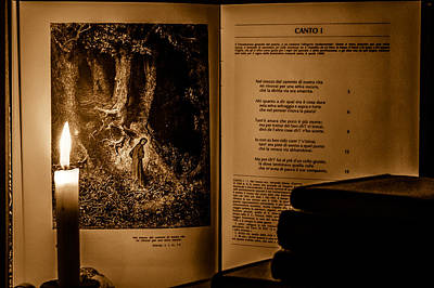 Photograph - Dante - Inferno by Andrea Mazzocchetti