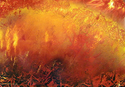 Painting - Inferno by Richard Mordecki