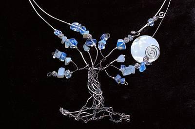 Opalite Jewelry - Infini-tree Opalite Neck Wear by Jennifer Dubois