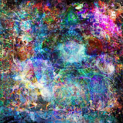 Infinite Bit 25 Art Print