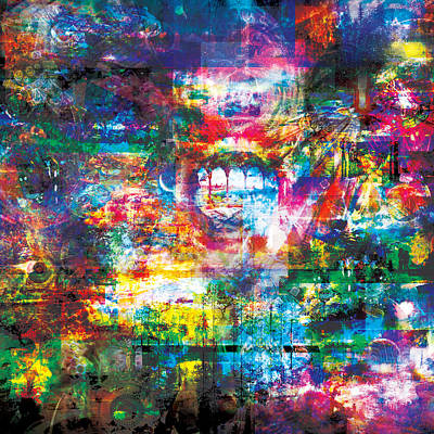 Infinite Bit 8 Art Print