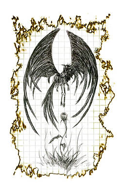 Reaper Mixed Media - Infinite Cycles by Kd Neeley