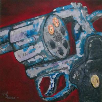 Gun Barrel Painting - Infinite Duo by Dennis De Jesus