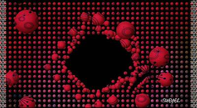 Digital Art - Infinite Hole by Sueyel Grace