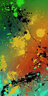 Black Top Digital Art - Infinite M Panel #1 by Ryan Burton