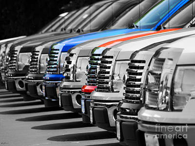 Photograph - Infinite Trucks by Jai Johnson