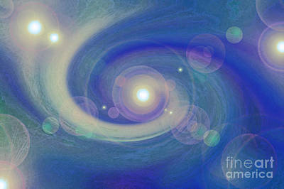 Jrr Photograph - Infinity Blue by First Star Art