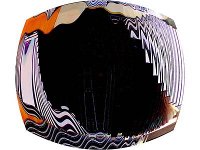 Digitalized Photograph - Infinity Drum 1 by Cj Carroll
