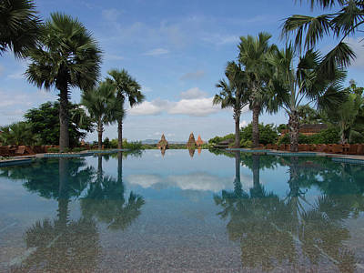 Infinity Pool Of Aureum Palace Hotel Art Print