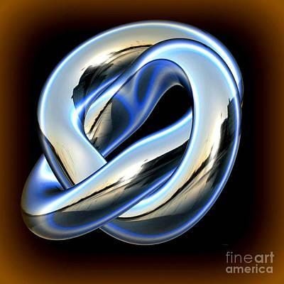 Digital Art - Infinity Ring by Greg Moores