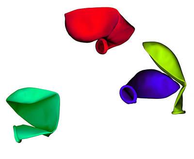 Digital Art - Inflated Idea 1 by Julian Cook