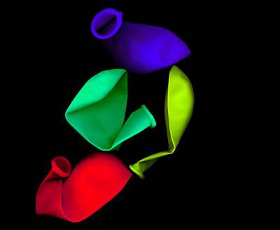 Digital Art - Inflated Idea 4 by Julian Cook