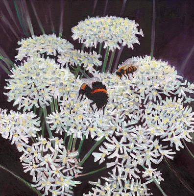 Painting - Inflorescence by Helen White